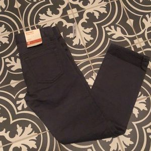 Old Navy Boys Gray Skinny Jeans NWT Size 8
